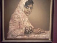 Girl Reading (Malala Yousafzai)