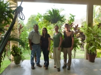 Daryle and I with our gracious hosts from Gualan Rotary Club, Salvador and Milvia.
