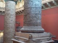 Plaster casts of some huge pillars