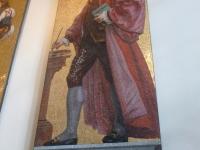 Mosaic Portrait of Sir Joshua Reynolds