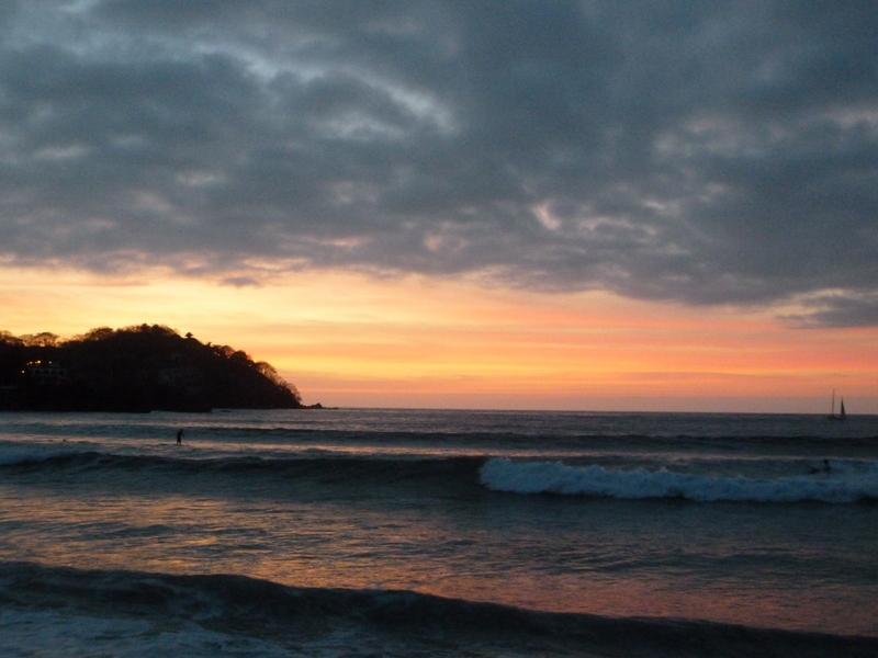 Sunset in Sayulita