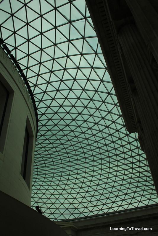 Ceiling at the British Museum
