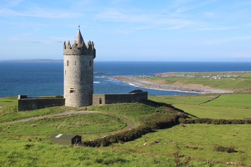 Tower on the Dingle Peninsula
