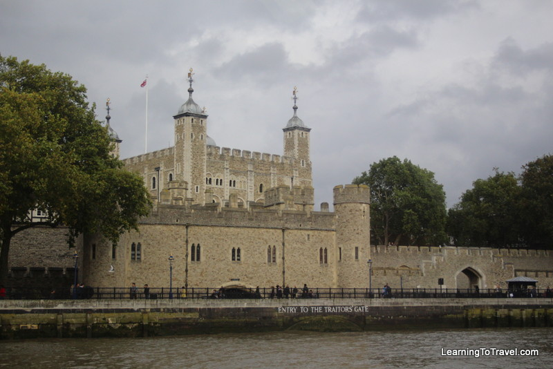Tower of London from Thames