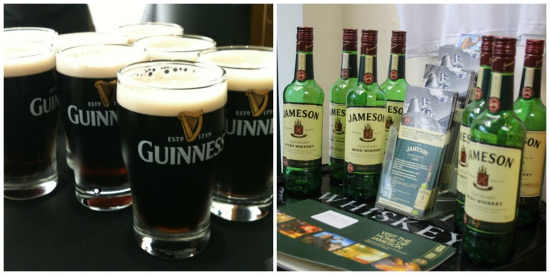 Guiness Jameson Collage