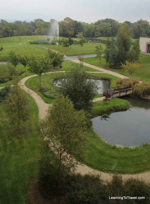 View from our room - Lyrath Estate