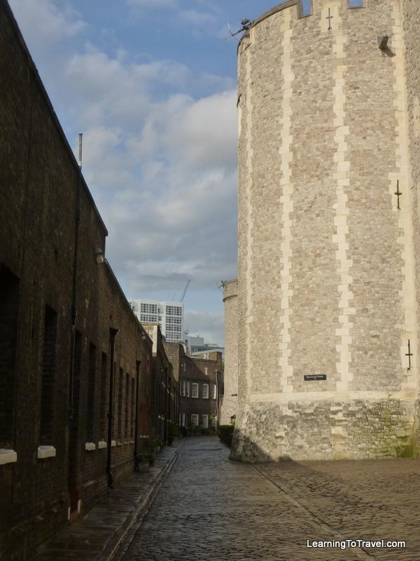Tower of London - Inside Walls