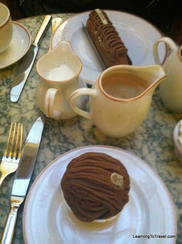 Hot Chocolate at Angelina's