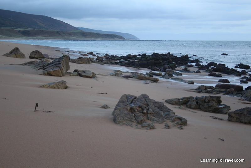 Beach at Crakaig