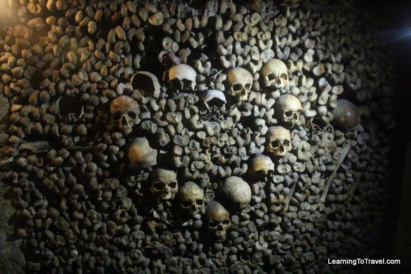 Skull Heart - Paris Catacombs