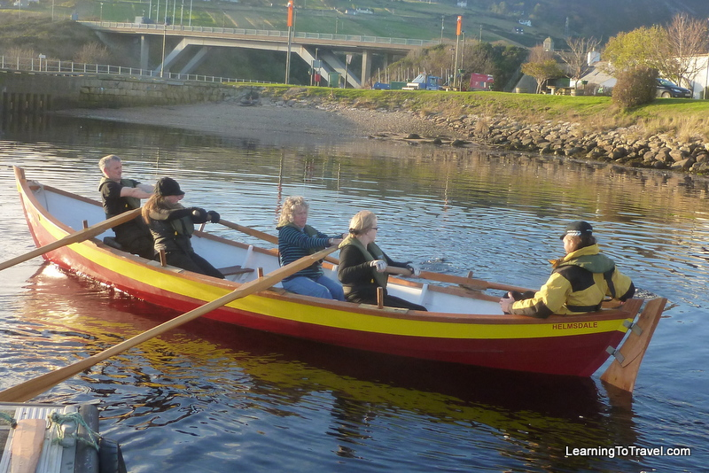 Rowing in Helmsdale