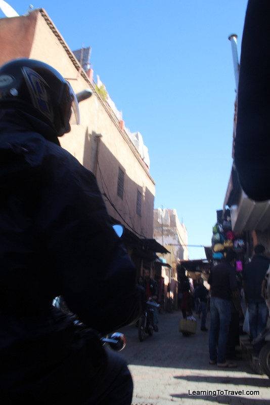 Marrakech Busy Streets