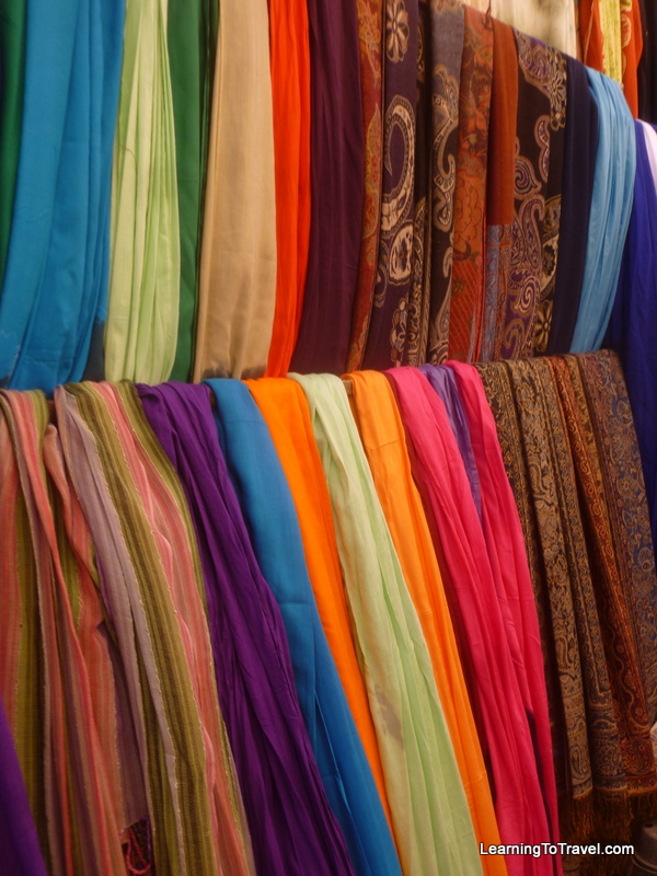 Colorful Scarves - Morocco
