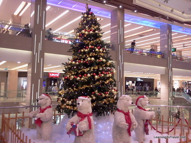 Christmas Tree at Mall