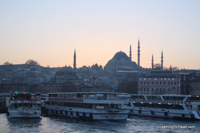 Ferries and Mosque