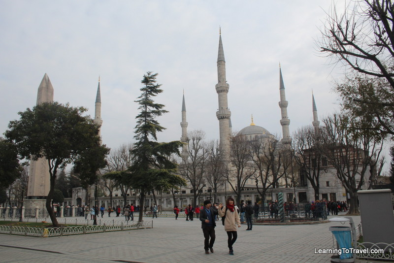 Obelisk and Mosque