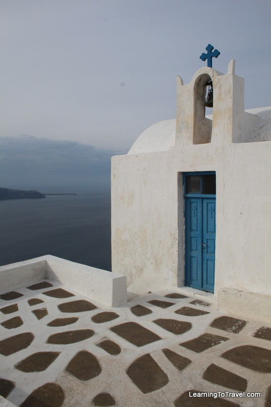 Cycladic Church - Santorini