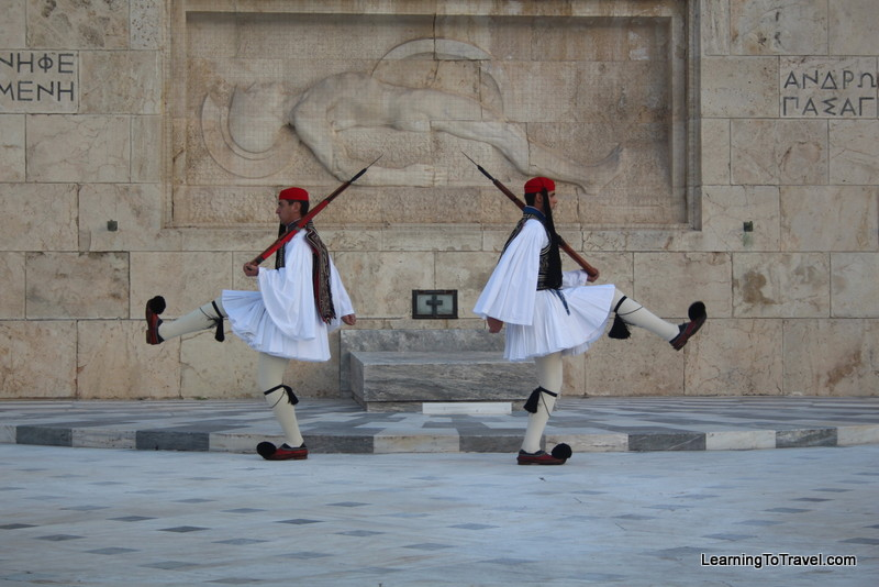 Tomb of the Unknown Soldier in Athens