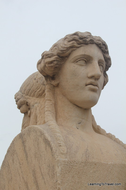 Statue at Panathenaic Stadium