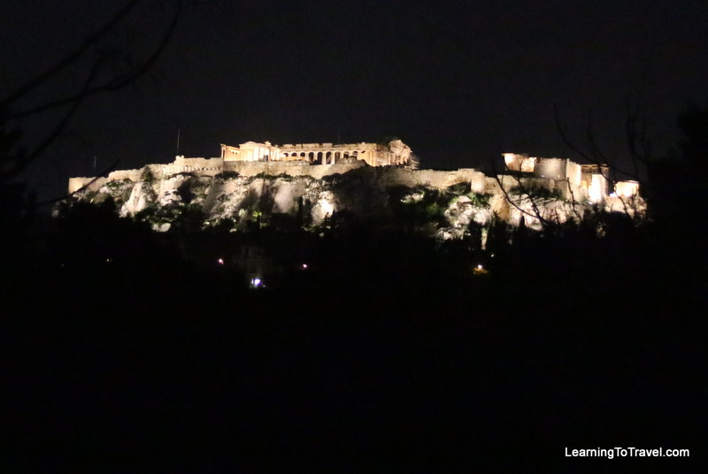 Acropolis by Night