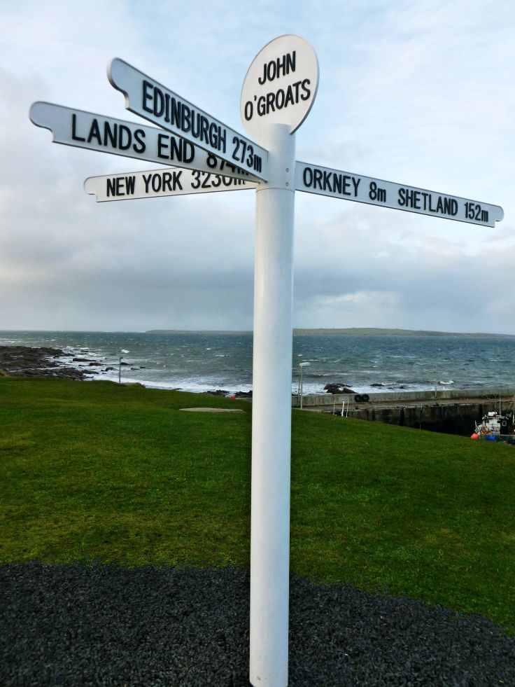 john o'groats sign in scotland