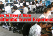 authentic travel experience