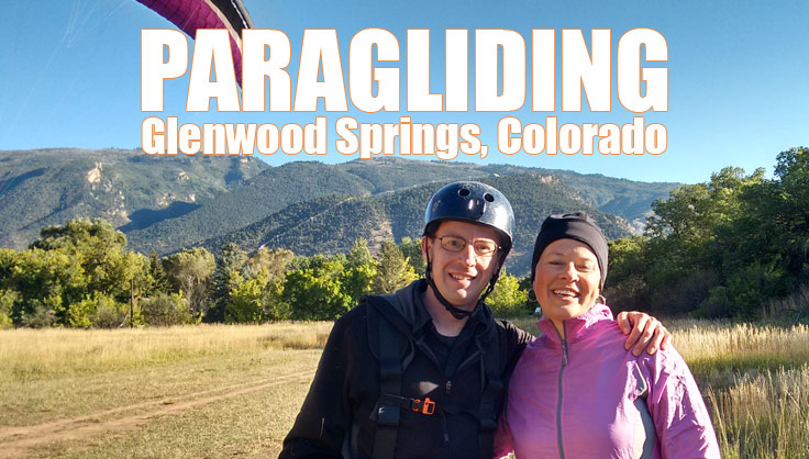 Paragliding In Glenwood Springs Colorado