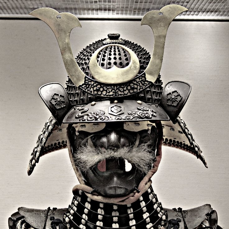 Japanese battle helmet