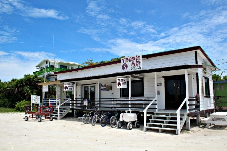 caye caulker belize airport