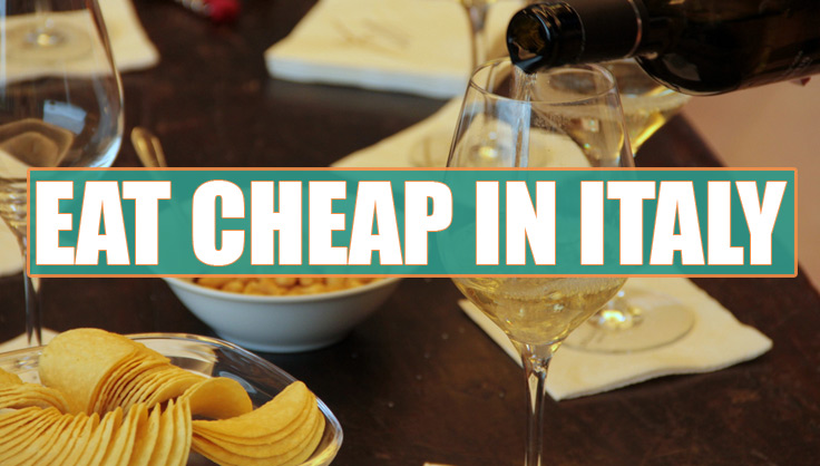 eat cheap in italy