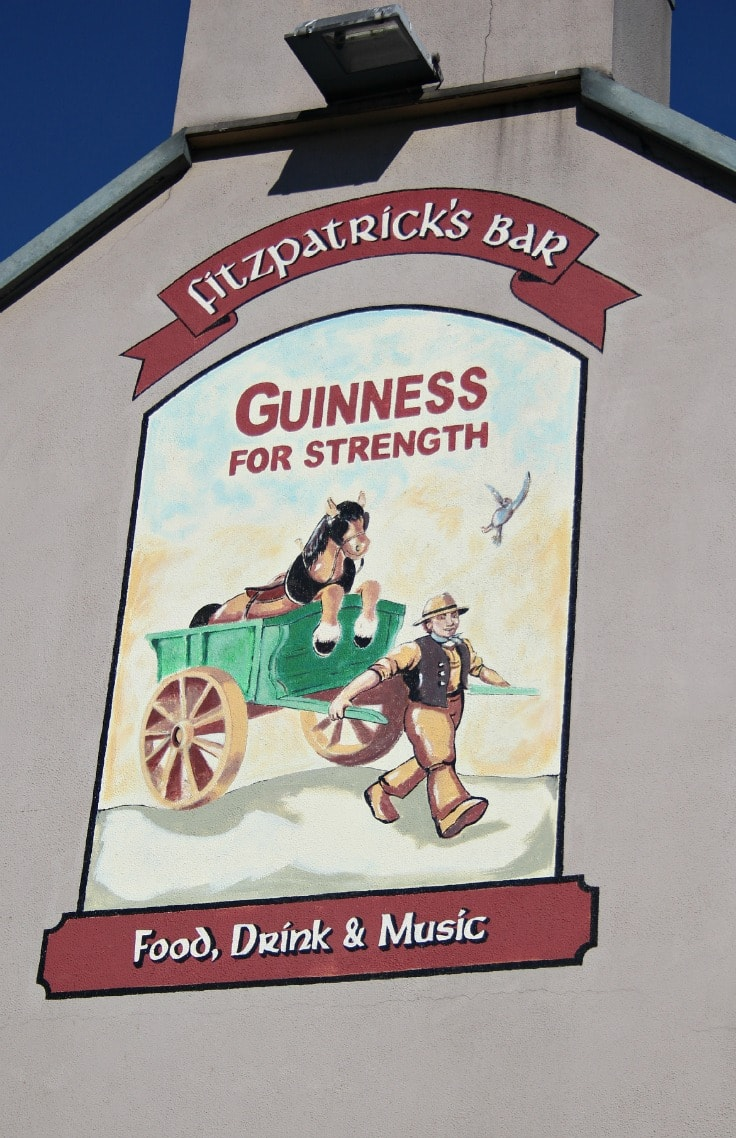 guinnes for strength sign in Ireland