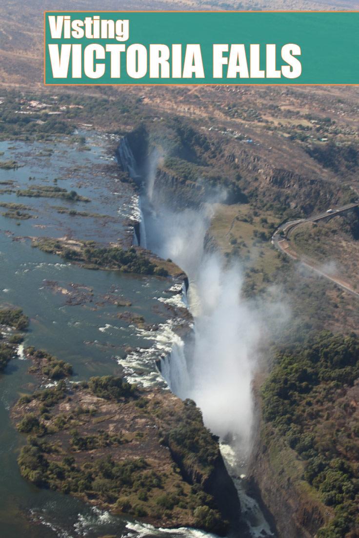 Visting Victoria Falls