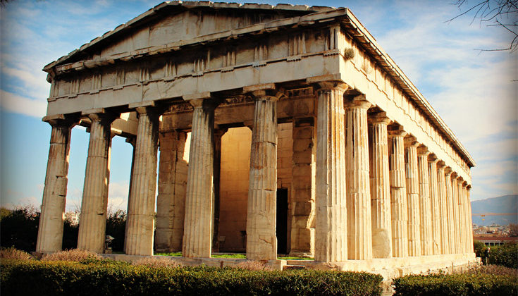 Temple Of Hephaestus | A Closer Look
