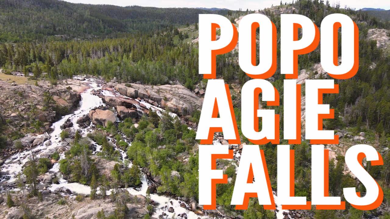 popo agie falls hike